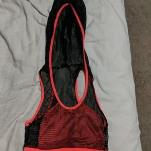 Fashion Nova sports bra and shorts set
